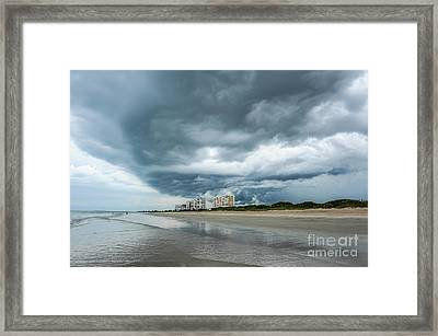 Storm Brewing Framed Print by Liesl Marelli