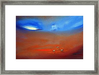 Storm Brewing Framed Print by Neil McBride