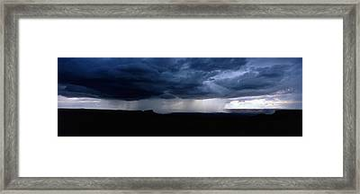 Storm, Canyonlands National Park, Utah Framed Print by Panoramic Images