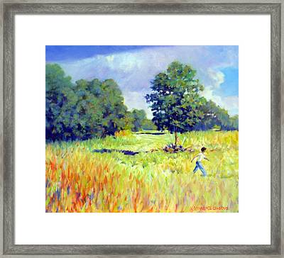 Storm Chase Framed Print by Kevin Lawrence Leveque