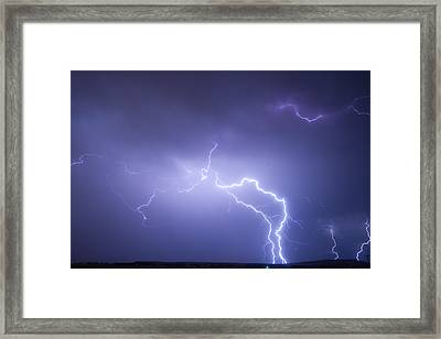 Storm Chase Six Twenty Eight Thirteen Framed Print by James BO  Insogna