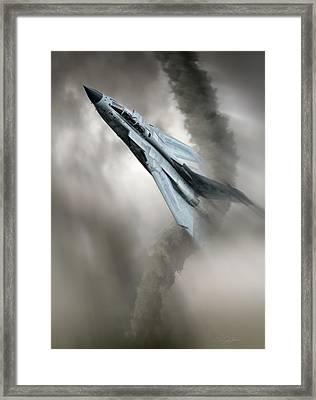 Storm Chaser Framed Print