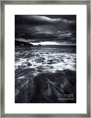 Storm Clearing Framed Print by Mike  Dawson