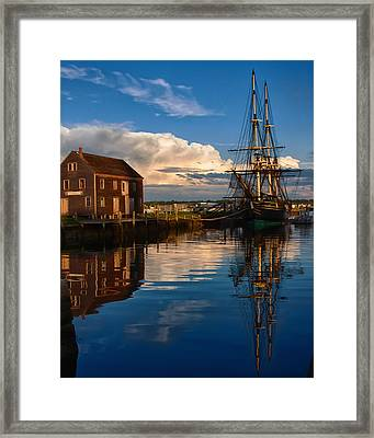 Storm Clearing Friendship Framed Print