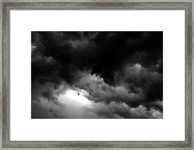 Storm Clouds Framed Print by David Lee Thompson