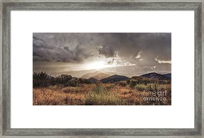 Storm Clouds Framed Print by Dianne Phelps