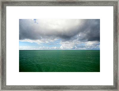 Storm Clouds Gathering Framed Print