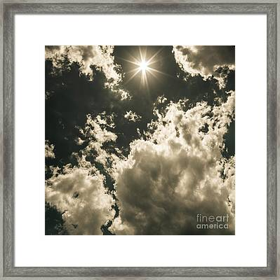 Storm Clouds Gathering Framed Print by Jorgo Photography - Wall Art Gallery