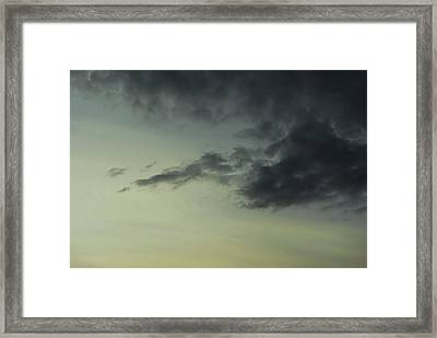 Dark Clouds Framed Print by John Rossman