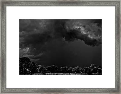 Storm Clouds Framed Print by Mark Alder