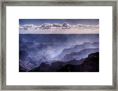 Storm Clouds Rising Framed Print