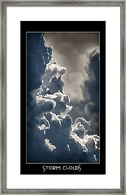 Storm Clouds  Framed Print by Vincent Dwyer