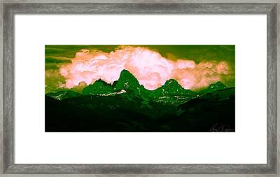 Storm Coming Framed Print by Aaron Carper