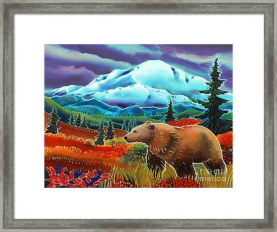 Storm Coming Framed Print