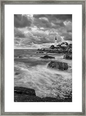 Storm Coming Framed Print by Jon Glaser