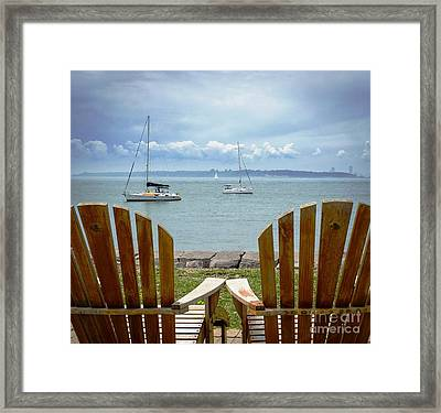 Storm Coming Framed Print by Mike Ste Marie