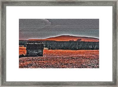 Storm Coming Framed Print by R McLellan