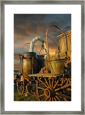 Storm Coming Framed Print by Robert Anschutz