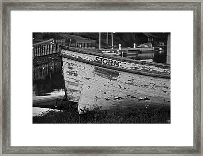 Storm Craft Framed Print
