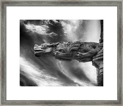 Storm Dragon Framed Print