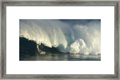 Storm Front Framed Print by Bob Christopher