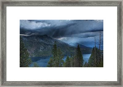 Storm Head Framed Print