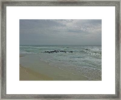 Storm In May Framed Print