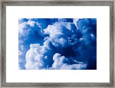 Storm Is Coming - Featured 3 Framed Print by Alexander Senin