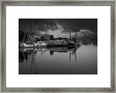 Storm Is Coming  Framed Print