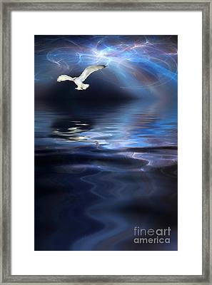 Storm Framed Print by John Edwards