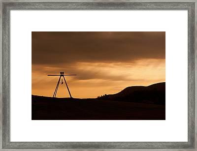 Storm King Framed Print