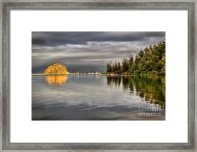 Storm Light Framed Print by Alice Cahill