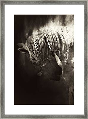 Storm Framed Print by Lyndsey Warren