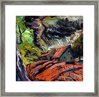 Storm March Framed Print by Charlie Spear