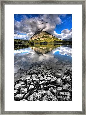 Storm Mountain II Framed Print