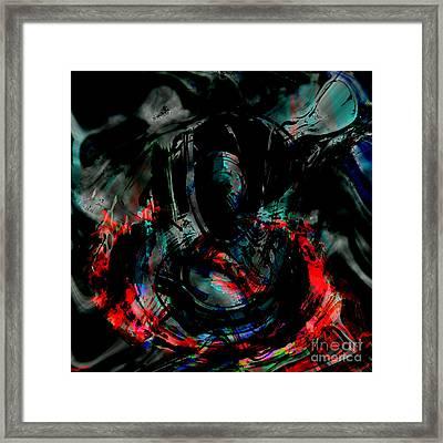 Soul On Fire Framed Print