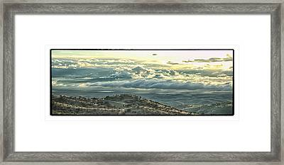 Storm On The Way Framed Print
