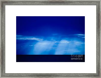 Storm Over Camotes Framed Print by Hank Taylor