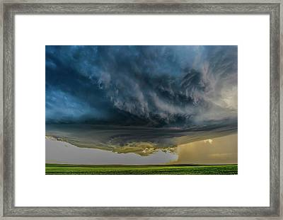 Storm Over Greenfield Framed Print