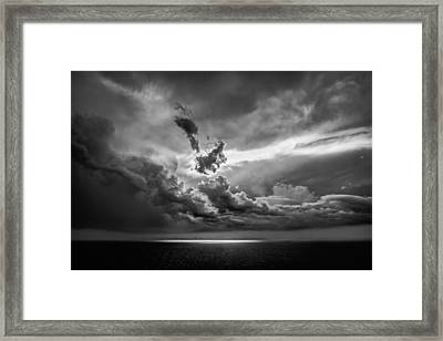 Storm Brewing Framed Print by Maria Robinson
