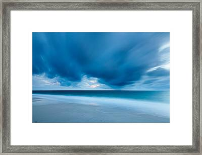 Storm Over The Sea, Sylt Framed Print by Panoramic Images