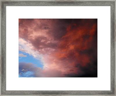 Storm Framed Print by Paulina Roybal