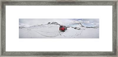 Storm Rider Framed Print by Evelina Kremsdorf