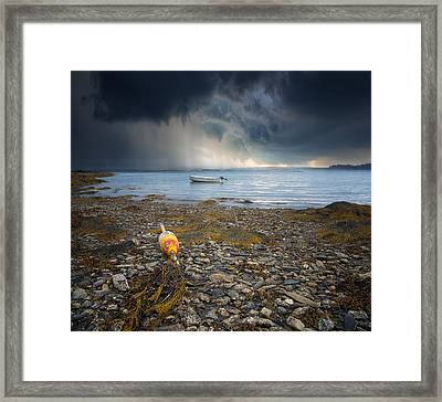 Storm Rolls In Framed Print by Darylann Leonard Photography