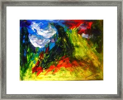 Storm.. Framed Print by Rooma Mehra