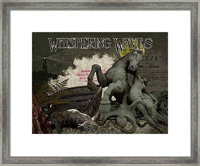 Storm Salvage Framed Print by Donna Lee Young