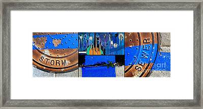 Storm Shudders Framed Print