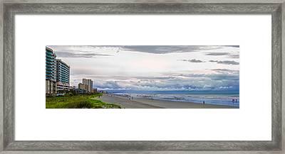 Storm Tail Framed Print