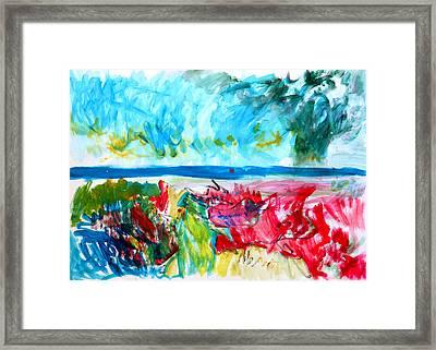 Storm The Coast Framed Print by Konstantin  Dimitrov