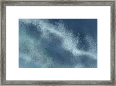 Storm Tide Framed Print by Jean Moore